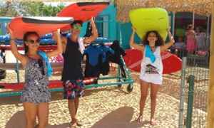 Big Wave Surfcamp, El Palmar, Andalusien, Spanien